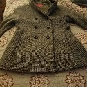 Anne Klein coat with hood